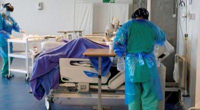 Covid-19: reportan récord de 204 internados en terapia
