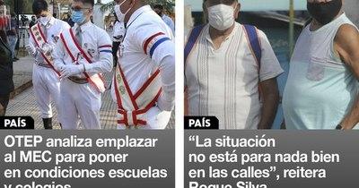La Nación / Destacados de la mañana del 19 de enero