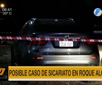 Investigan posible caso de sicariato en Mariano Roque Alonso
