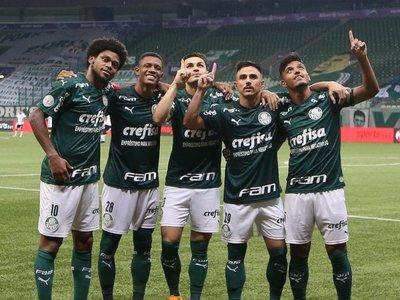 Palmeiras se motiva con goleada en el clásico y tiene en la mira al Flamengo