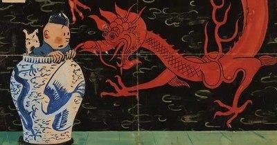 La Nación / Dibujo de Tintín subastado por más de 3,1 millones de euros, récord mundial para un cómic