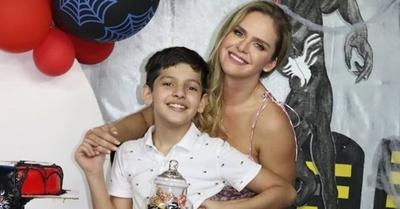 Gabi Wolscham festejó a lo grande el cumpleaños de su hijo