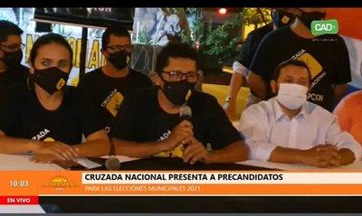 Cruzada Nacional presenta candidatos en Concepción
