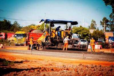 En la ruta PY02 avanzan los trabajos en la variante de San José de los Arroyos