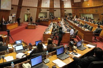 Diputados a la espera de la Interpelación a Juan Ernesto Villamayor