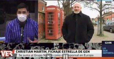 La Nación / Desde Europa, el periodista Christian Martin se suma al Grupo Nación como corresponsal exclusivo