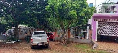 Senad allana una vivienda en Pdte. Franco utilizada como almacén de marihuana