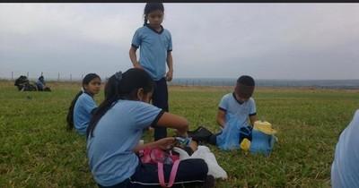 La Nación / Maris Llorens habilitó una escuela en San Pedro hace 10 años y cumplió su sueño