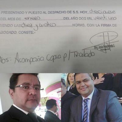 Profesional del Derecho presenta querella criminal contra Martín Escobar, alias