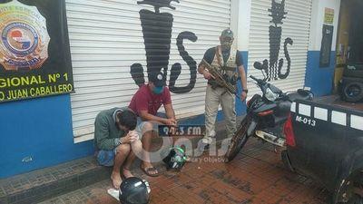 Brasileños entregadores  de cocaína fueron detenidos por la Senad en Pedro Juan