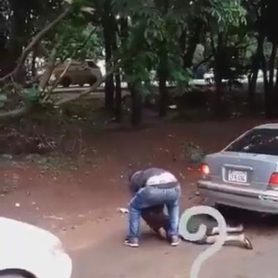 Buscan al hombre que golpeó a un niño en Ciudad del Este