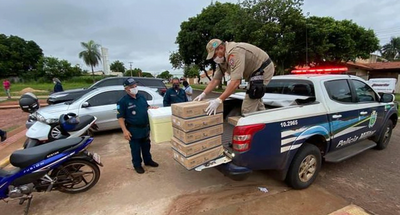 Ponta Porã recibe primer lote de vacuna contra el Covid-19
