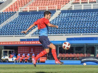 Ortigoza fue presentado por su nuevo club