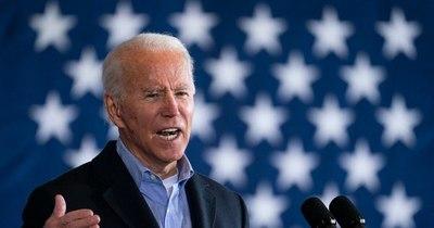 La Nación / Principales momentos del día de la investidura de Joe Biden