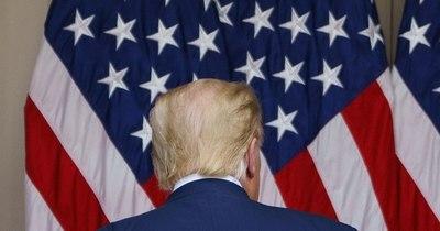 La Nación / Trump pasa su último día en la Casa Blanca y Biden va para Washington