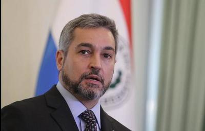 Mario Abdo Benítez, negativo por covid-19