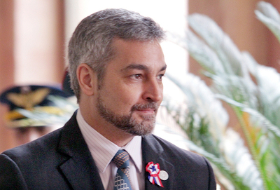 Presidente Mario Abdo da negativo a la prueba del coronavirus