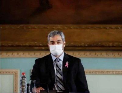Abdo vuelve a las actividades oficiales tras dar negativo al coronavirus