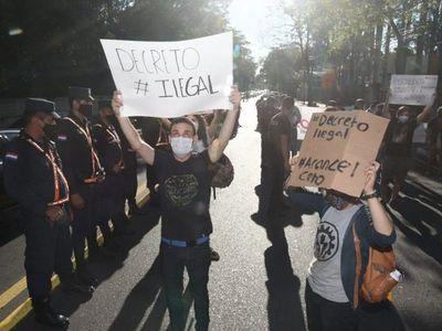 Estudiantes repudian trabas introducidas a Ley de Arancel Cero