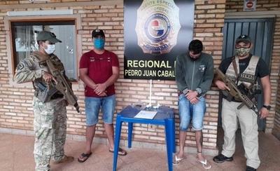 HOY / Brasileños que realizaban delivery de cocaína fueron capturados en PJC