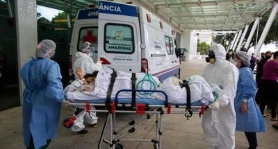 HOY / Brasil vuelve a sumar más de mil muertes por COVID-19 en un solo día