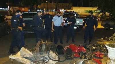 Aprehenden a menor supuesto responsable de varios robos de motocicletas