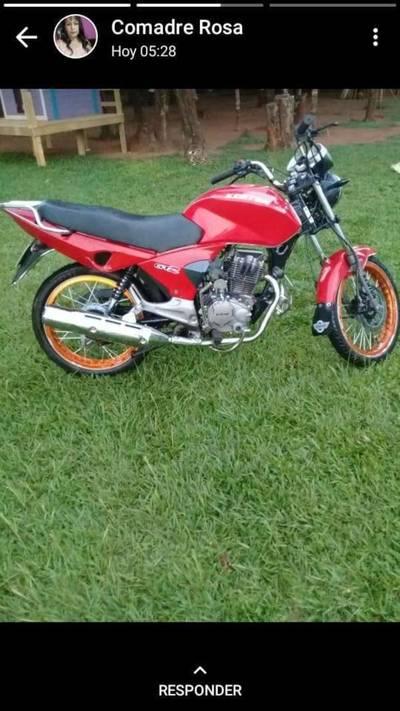 Policias de Investigaciones recuperan otra motocicleta