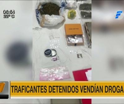 Detienen a cuatro personas que vendían droga ''VIP'' en Asunción