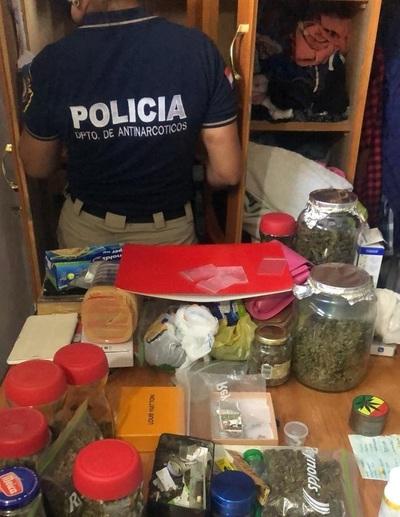 """Agentes antinarcóticos incautaron una droga """"cheta"""" y letal"""