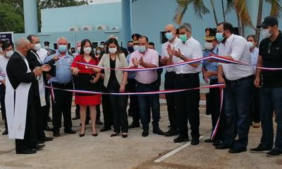"""Inauguran mejoras del Hospital de Policía """"Santa Rosa de Lima"""""""