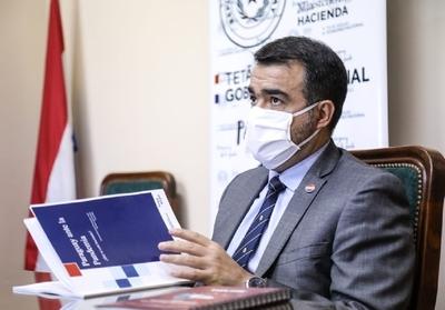Ministro Llamosas destacó solidez de la economía paraguaya ante la pandemia