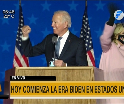 Las tres prioridades del Gobierno de Joe Biden