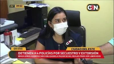 Autoridades brindan apoyo a turistas secuestrados y extorsionados
