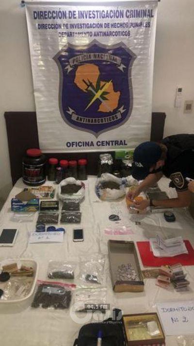 Incautan por primera vez costosa droga conocida como cocaína rosa