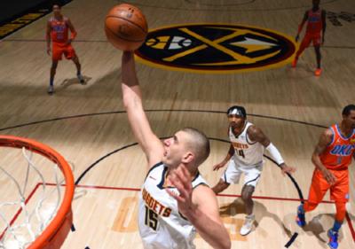 NBA: Con Jokic como bandera, Denver supera a Oklahoma City