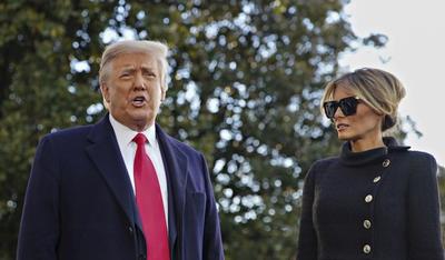 Donald Trump pone fin a su presidencia y deja la Casa Blanca