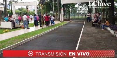 Reafirman pedido de cestas básicas para humilde escuela de Presidente Franco