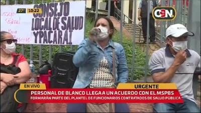 Discordia frente al Ministerio de Salud