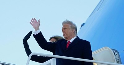"""La Nación / Trump desea """"mucha suerte y mucho éxito"""" al nuevo gobierno"""