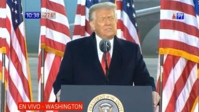 """Trump: """"Regresaremos, de alguna forma"""""""