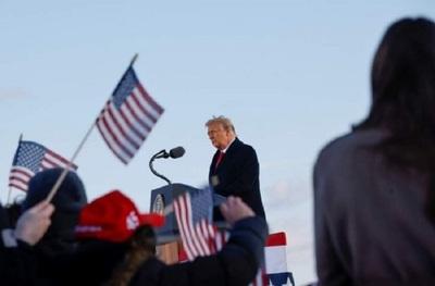 Trump deja la Casa Blanca en su último día como presidente de Estados Unidos