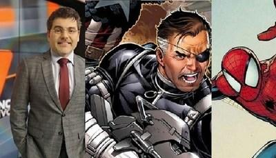 Luis Bareiro y su relato de personajes de Marvel