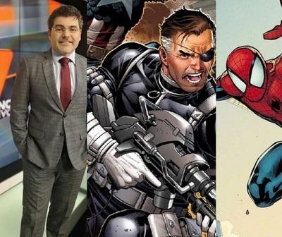 Luis Bareiro habló en radio de Nick Fury y otros personajes de Marvel
