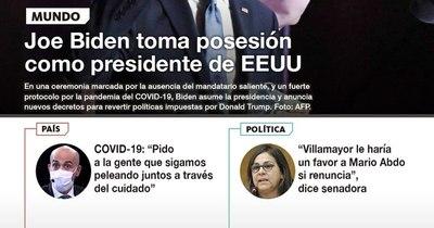 La Nación / LN PM: Las noticias más relevantes de la siesta del 20 de enero