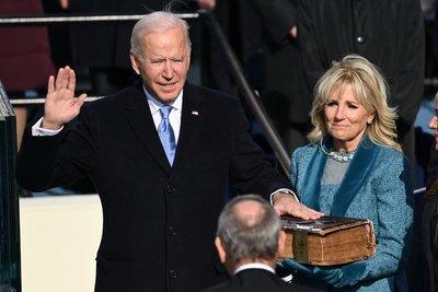 """Joe Biden da su discurso inaugural: """"La democracia ha prevalecido"""""""