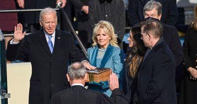 Joe Biden juró como 46° presidente de EE.UU.