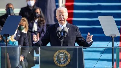 """Biden tras asumir a la presidencia: """"Estados Unidos fue puesto a prueba y demostró su resiliencia"""""""