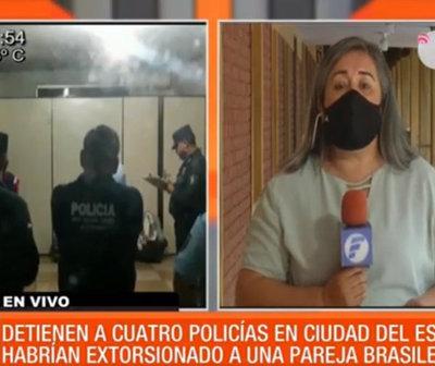 Detienen a policías por supuesta extorsión a turistas en CDE