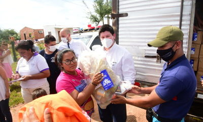 Banco Atlas suma su aporte asistiendo a los afectados por las inundaciones en Concepción