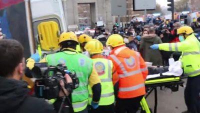 Tres muertos tras la explosión del edificio en Madrid